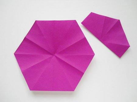 оригами мак