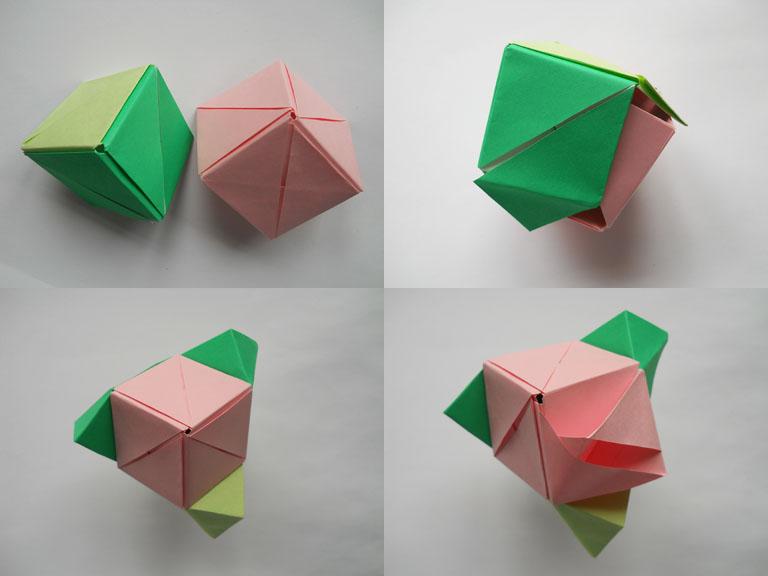 Цветок оригами схема для начинающих - Оригами.