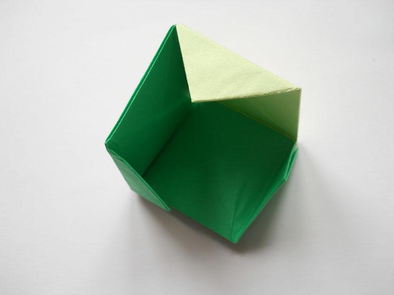Кубик - Веб-страничка об оригами из бумаги.