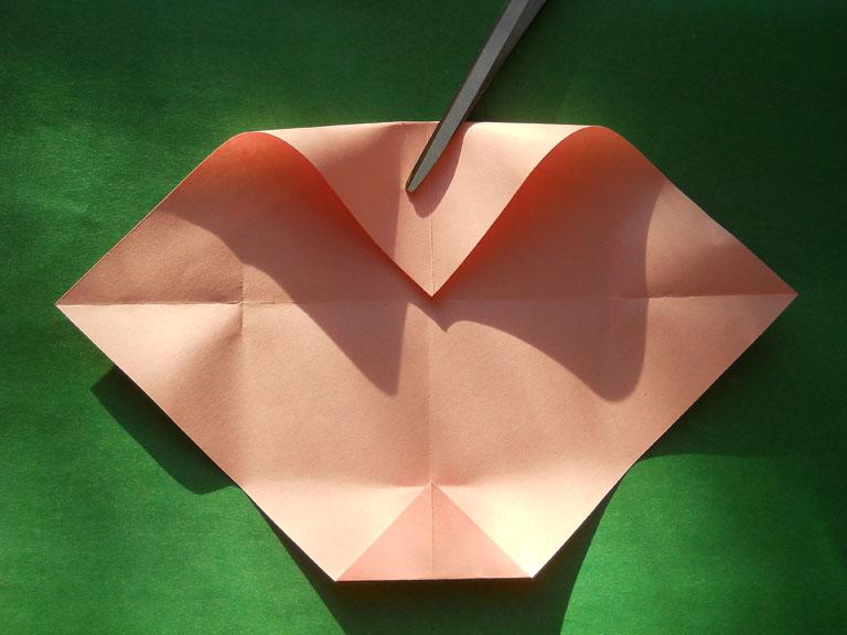 оригами для начинающих роза.