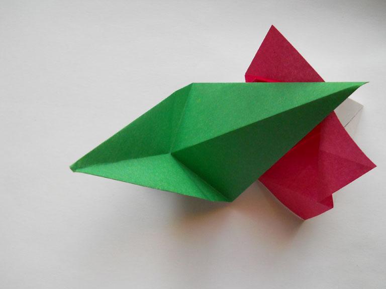 Как делать тюльпаны из бумаги своими руками фото 129