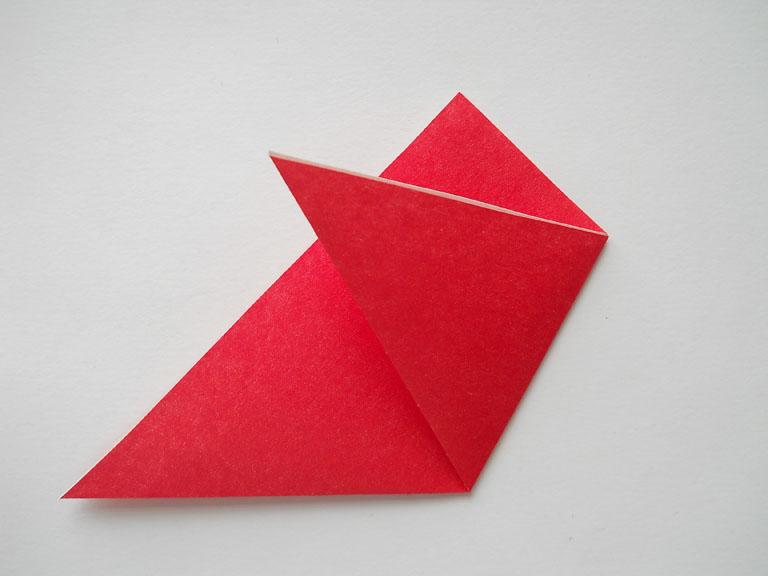 Схема оригами - журавлик из бумаги / Оригами для детей и - Ёжка.