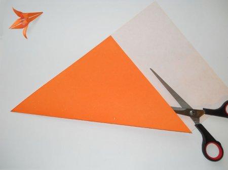 оригами лилия видео