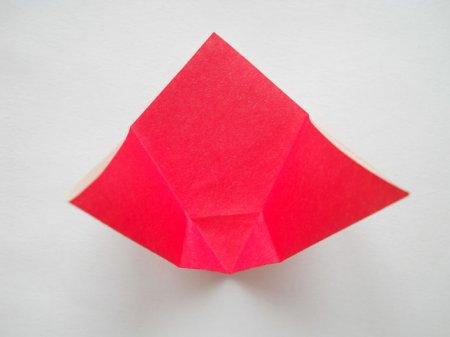 оригами схемы для начинающих тюльпан.