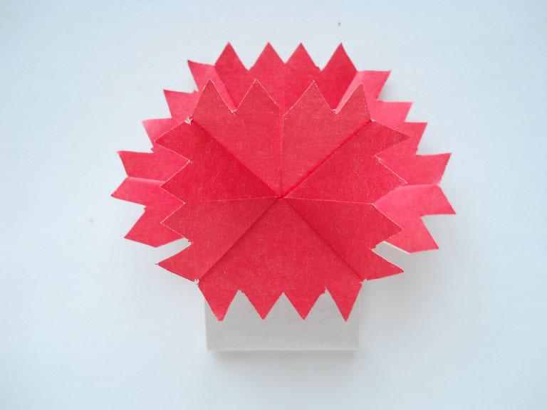 Как сделать оригами цветок своими руками