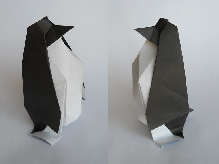 """Предлагаем вашему вниманию оригами  """"лев """".  Представлена схема из бумаги сборки."""