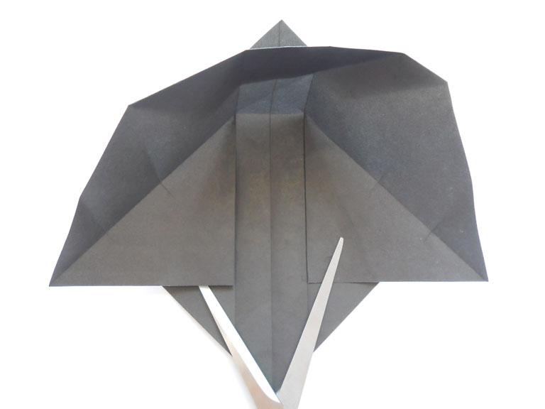 как сделать пингвина из бумаги.