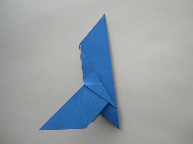 как сделать голубя оригами.