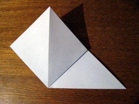 оригами ласточка