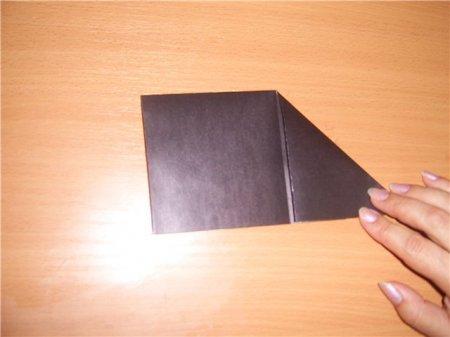 как сделать аиста из бумаги