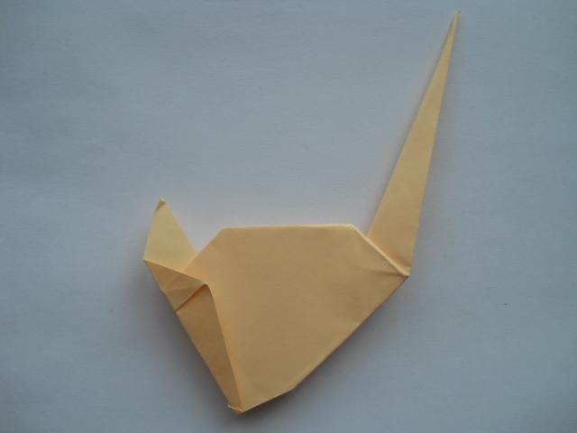 Лебедь своими руками оригами