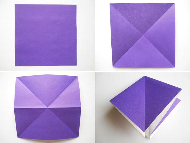 Оригами осьминог