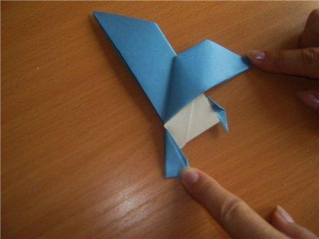орел из бумаги