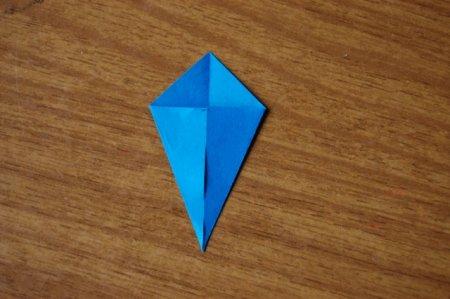 васильки модульное оригами