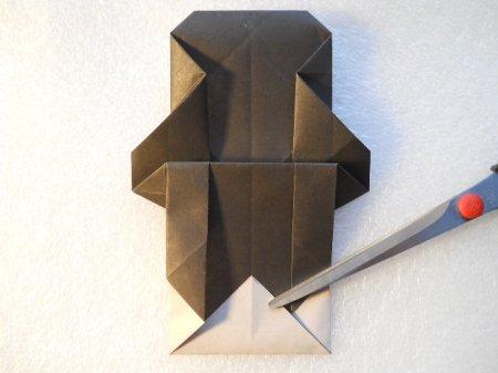 панда из бумаги