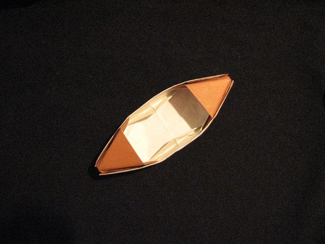 как сделать из бумаги лодку.