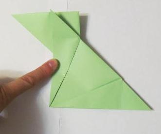 зайчик из бумаги