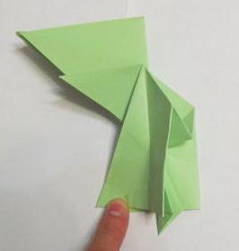 как сделать зайчика из бумаги