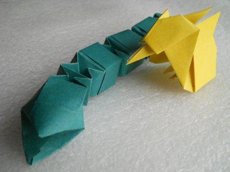 ЦЫПЛЕНОК Малышок - модульное оригами, пошаговые фото (мастер-класс).  А вот схемы сборки или Мастер-класс так и не...