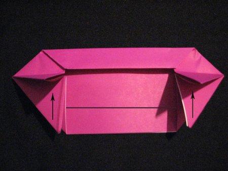 космический корабль оригами