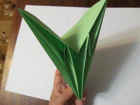 как сделать зайца из бумаги