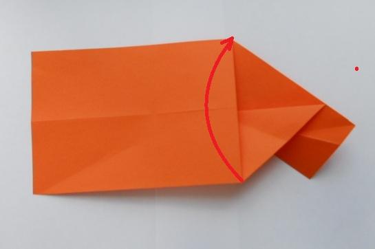 оригами собака схема.