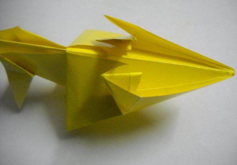 Схема из бумаги лев 161
