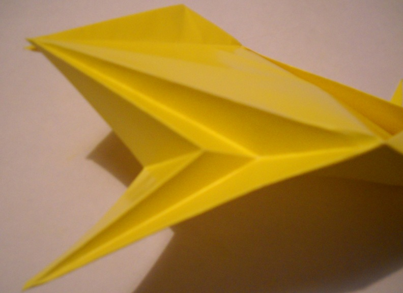 Схема из бумаги лев 85