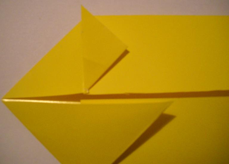 Схема из бумаги лев 654
