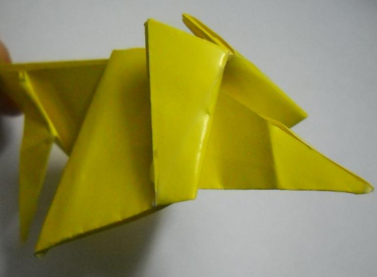 Схема из бумаги лев 952