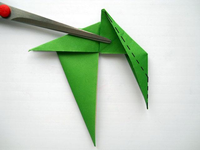 оригами динозавры схемы.