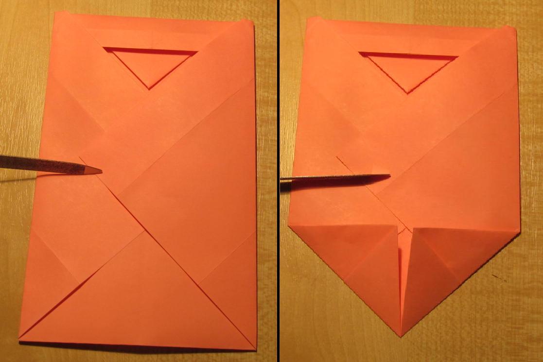 Маленький конвертик из бумаги своими руками