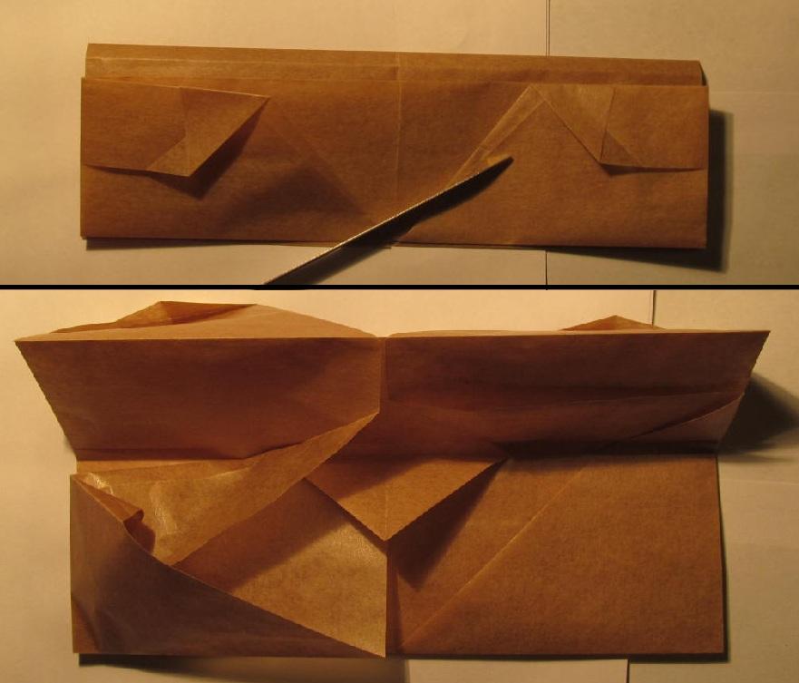 Как сделать бомбочку из бумаги.  Схемы сборки оригами из бумаги для.