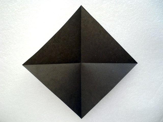 Как сделать из бумаги нож оригами