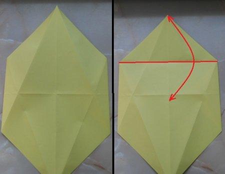 Кошка из бумаги.  Оригами - это не для слабонервных.