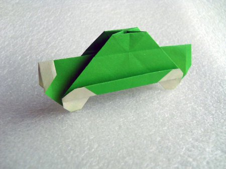 оригами машина схема