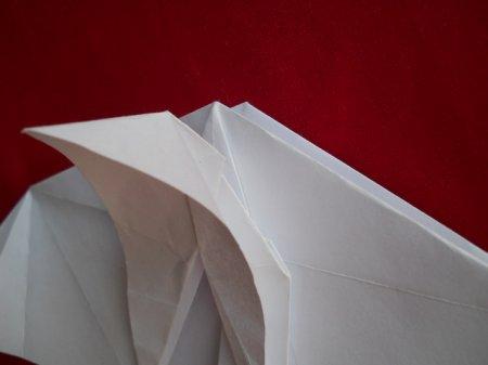 оригами пегас схема