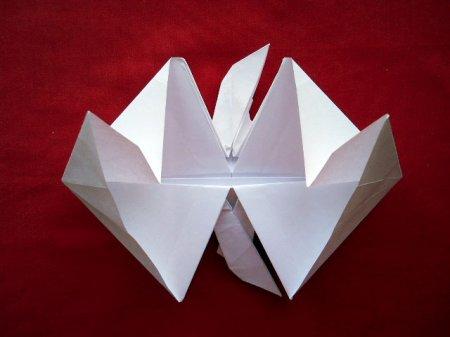 как сделать пегаса из бумаги