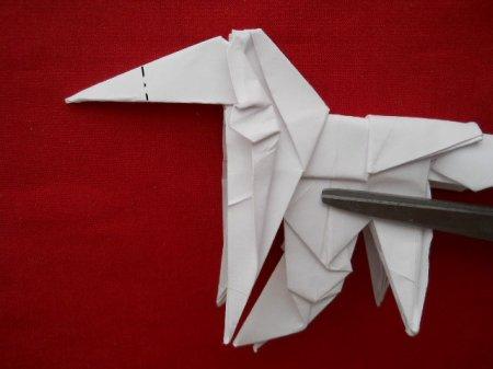 пегас оригами из бумаги