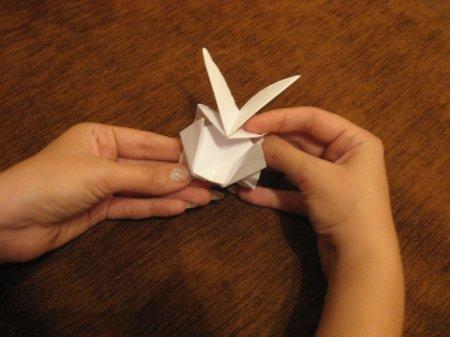 оригами танк видео