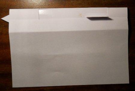 клинок ассасина из бумаги