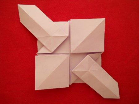 оригами пушка