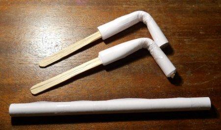 Как сделать трубочку своими руками