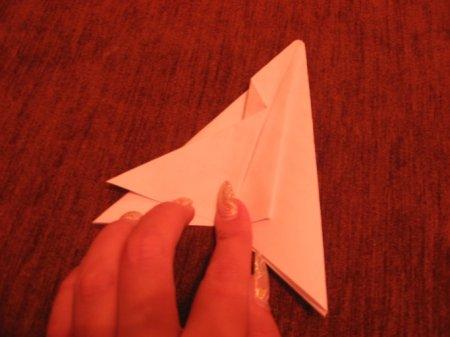 оригами ракета.