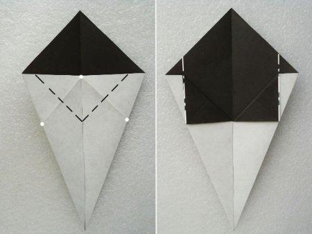 как сделать нож из бумаги
