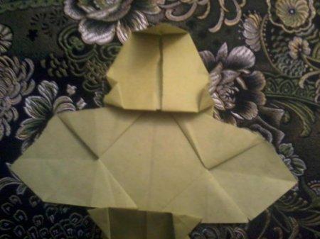 пчела оригами