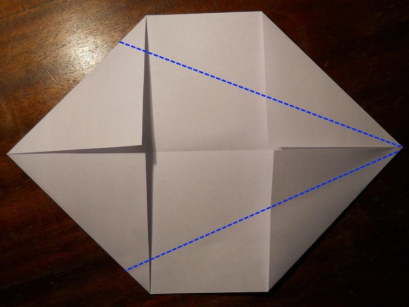 Как сделать оригами кунай