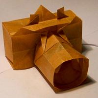 оригами фотоаппарат.
