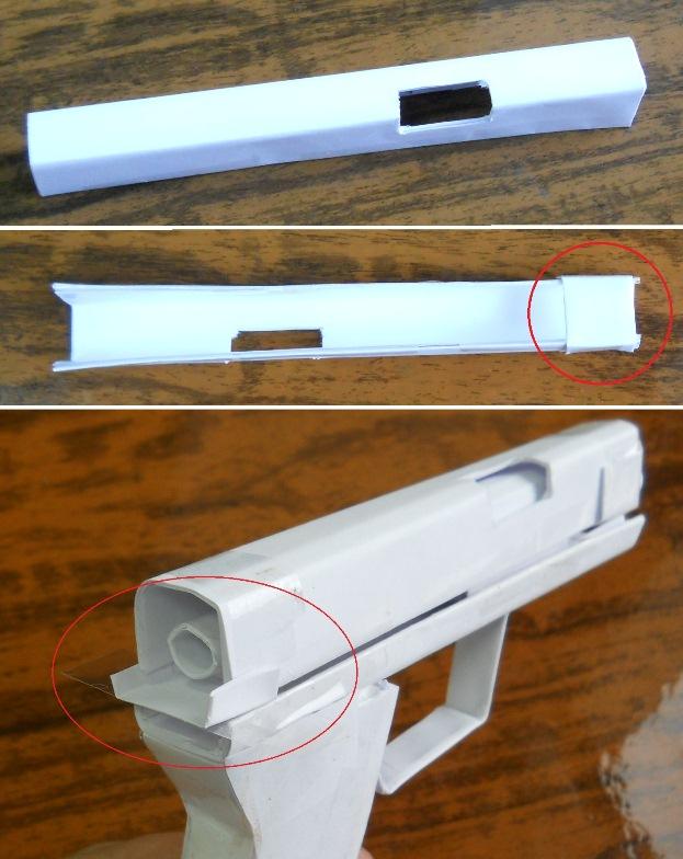 Как сделать своими руками из бумаги пистолет