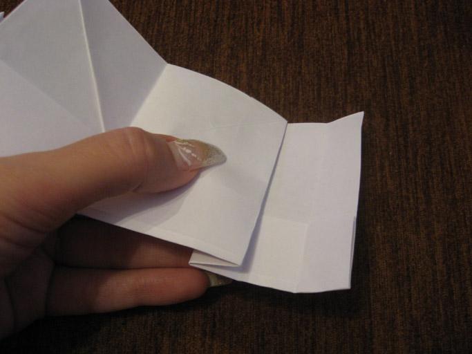 оригами объемное сердце схема.